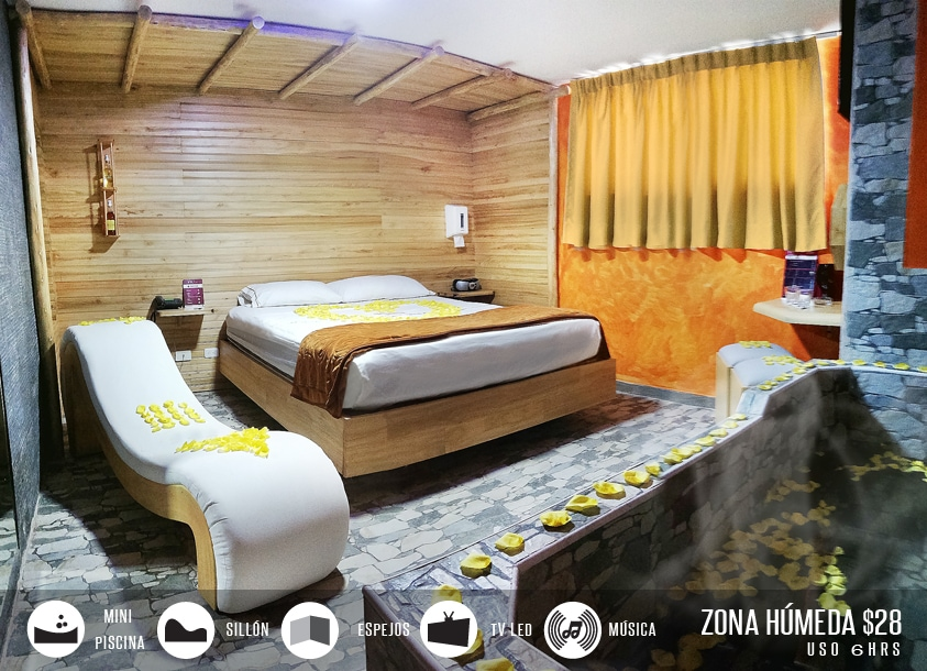 Habitación Motel Barú - Mejores Moteles en Quito, Ecuador